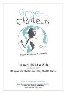 Globe Chanteurs 2014