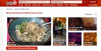 YELP Meilleurs restaurants méditerranéens