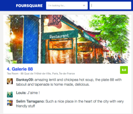 FOURSQUARE BEST PLACES FOR LENTILS IN PARIS OPINIONS