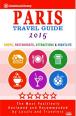PARIS TRAVEL GUIDE 2015 COVER