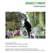 """MHB Prod """"Maurice et Vincent"""" Conte Musical"""